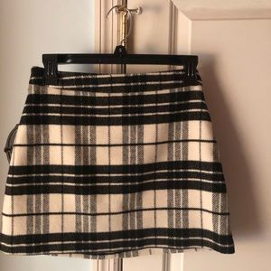 Plaid Winter Skirt